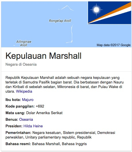 Kepulauan Marshall Islands