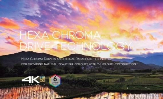 TV Panasonic Hexa Chroma Drive