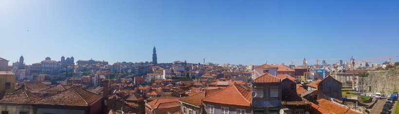 Viewpoint over Porto