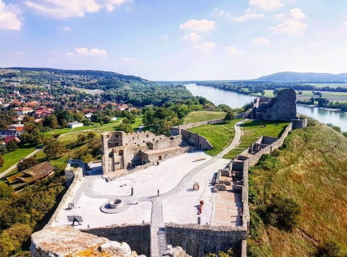 Devin Castle from above and the Danube River-Bratislava-First-Timer's-Guide-Local-Guide-Hoopla-Adventures