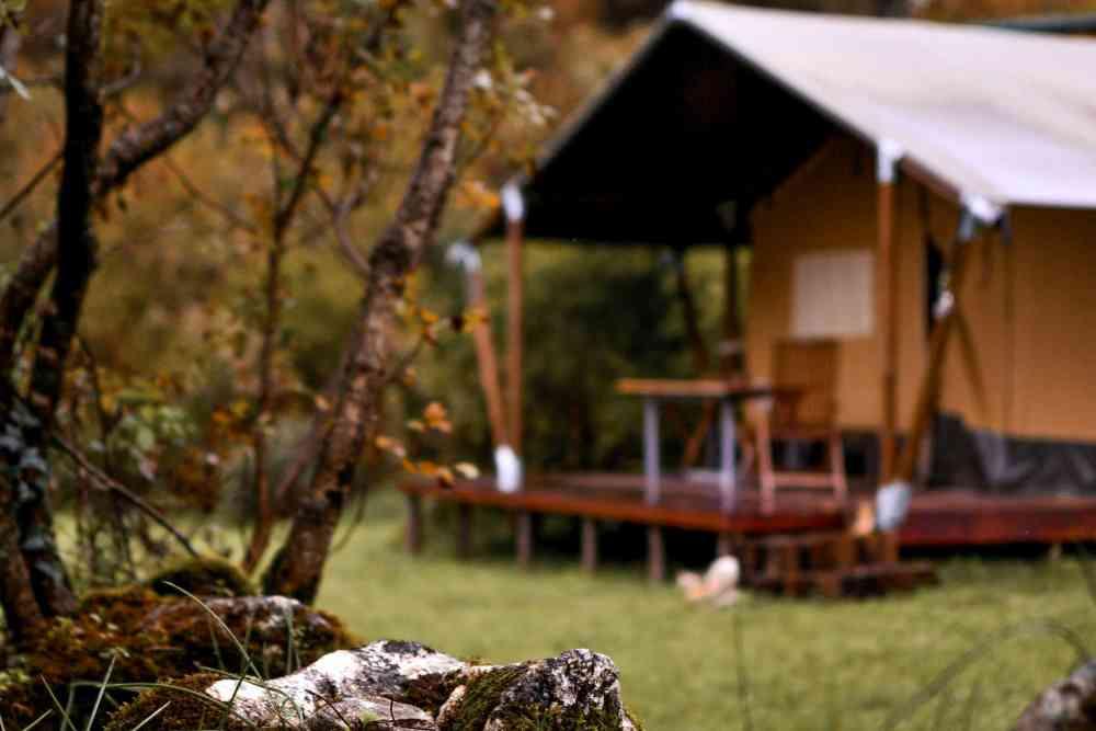 Skadar Lake Hoopoe Glamping in Montenegro safari lodge