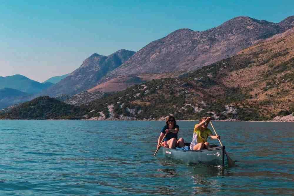 kayaking and canoeing Skadar Lake