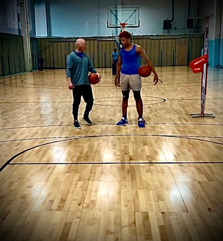 one on one basketball training