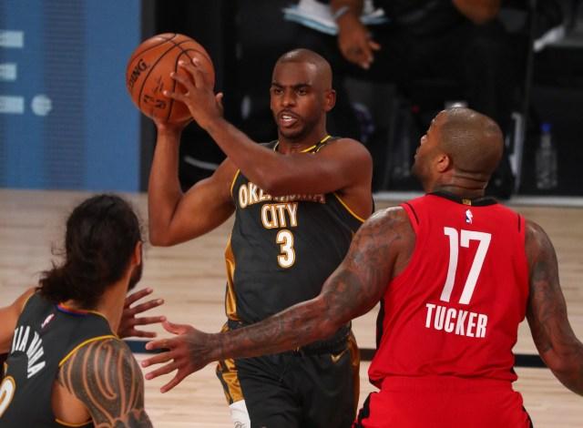 Chris Paul contro Rockets