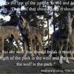 Kipling Wolves