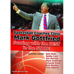 Mark Gottfried Basketball Coaches Clinic 2-DVD Set