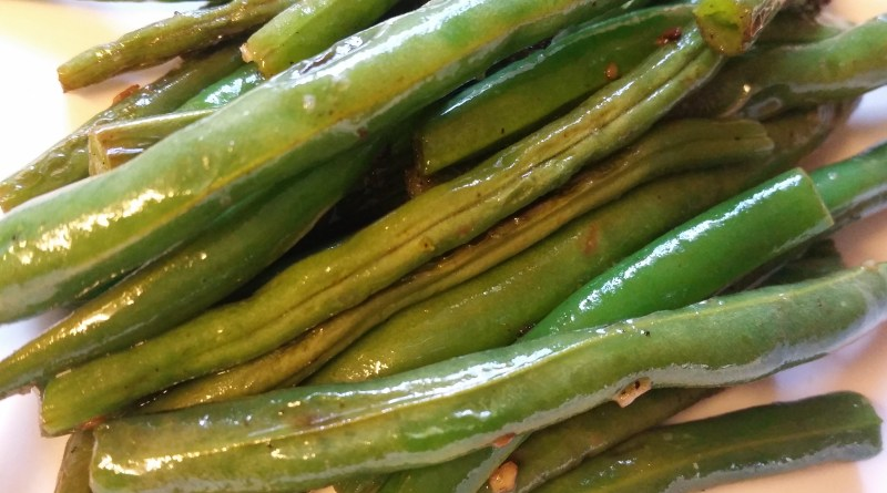 Sauteed green beans recipe