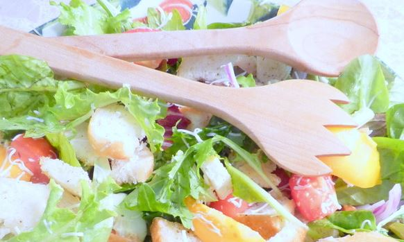 Panzanella Salad Recipe - Hooray for Moms