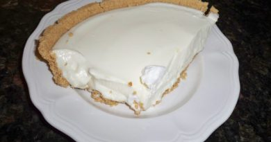 Lemon Ice Box Pie Recipe - Hooray for Moms