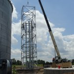 Support Tower Construction