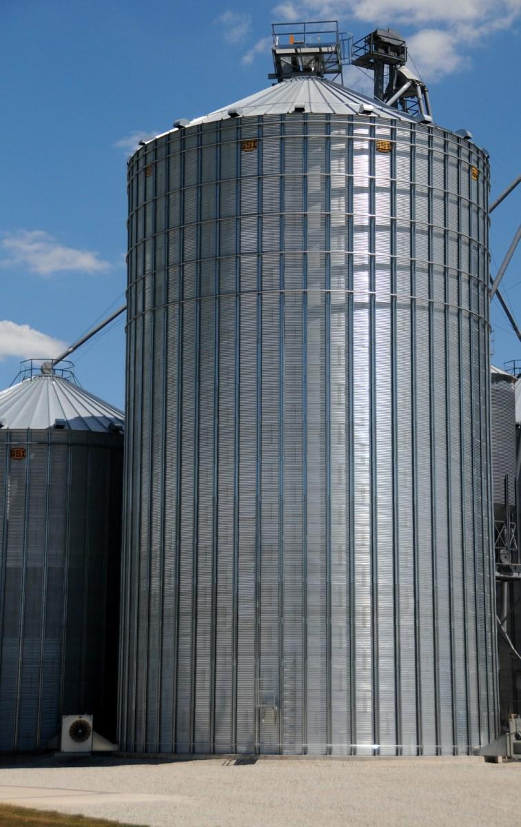 GSI Commercial grain bin
