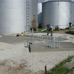 Grain Facility Concrete Work by Hoosier Agri-Matic