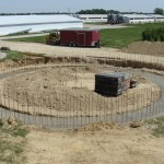 Grain Bin Concrete Work by Hoosier Agri-Matic