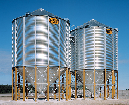 GSI Grain Storage Hopper tanks