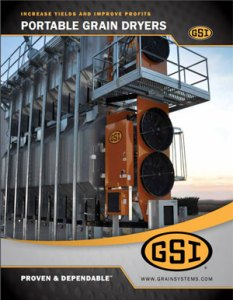 GSI Portable Grain Dryer Literature