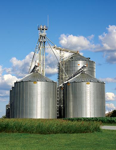 GSI Large Farm Grain Bins