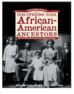 Book cover: Discovering your African American Ancestors.