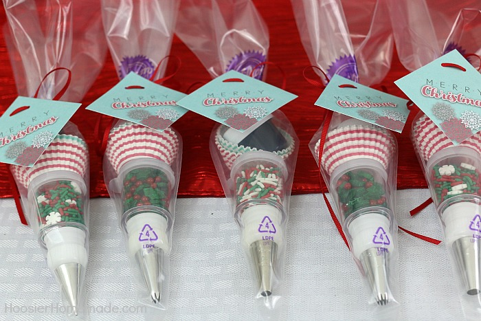 Cookie Decorating Party with Printables   Hoosier Homemade Mini Decorating Kit Party Favor