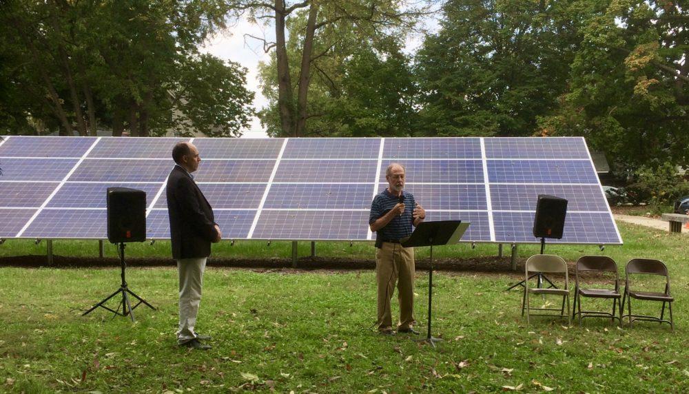 UUI Solar Dedication, Indianapolis with Hoosier Interfaith Power & Light