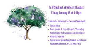 Tu B'Shabbat at Nefesh Shabbat