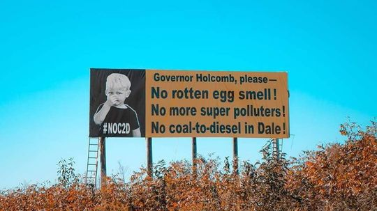 Say No on Coal 2 Diesel  in Dale
