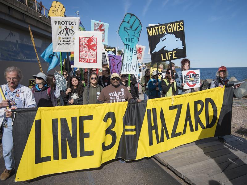 Join HIPL in #StopLine3 Action!