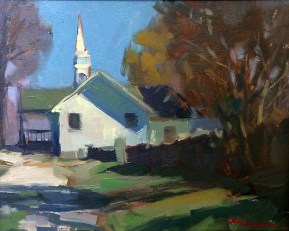 Church on Maple Grove / Troy Kilgore / Oil