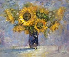 Sunflower Bouquet / Randall Scott Harden / Oil
