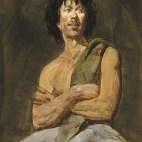 Jan (watercolor) - S McGraw