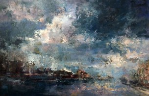 Clouds Over Honfleur