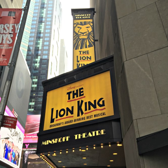 Broadway Lion King