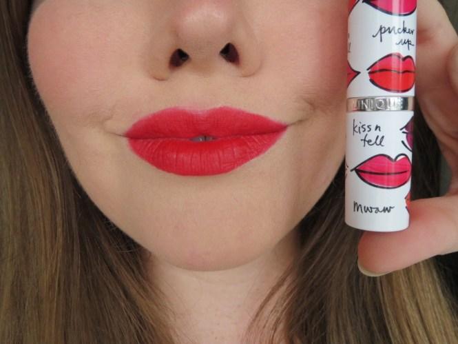 Clinique Long Last Soft Matte Lipstick Matte Crimson 4