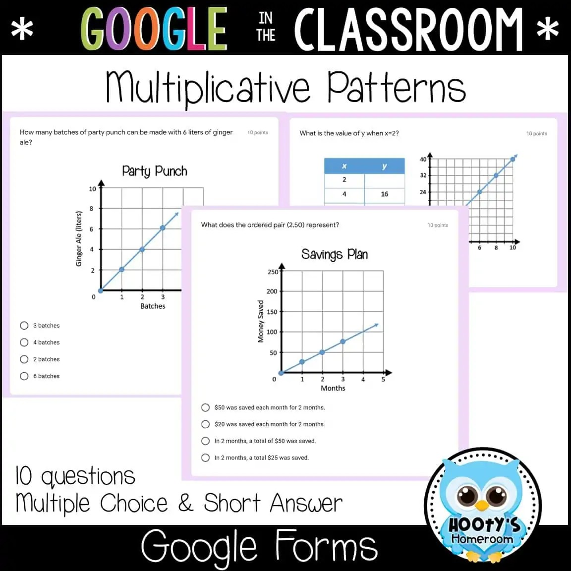 Coordinate Planes Using Forms