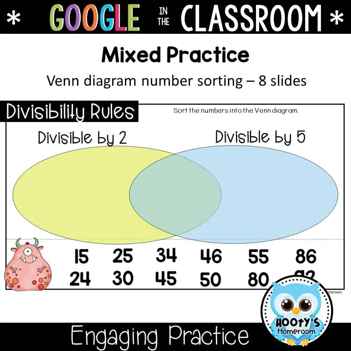 Divisibility Rules Using Slides