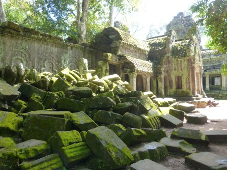 One of the courtyards of Preah Khan
