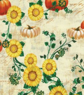sunflower_pumpkins napkins