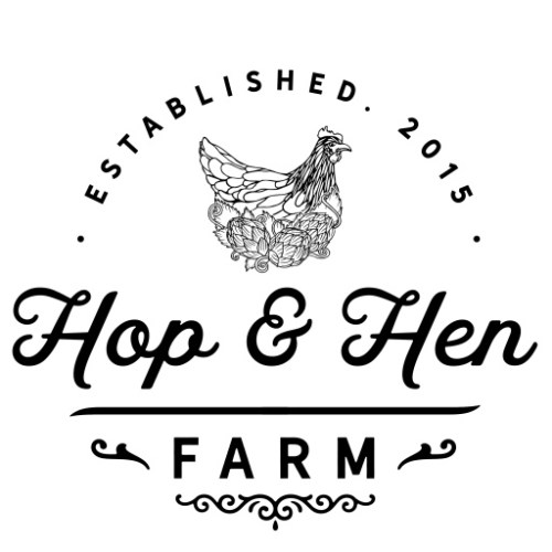 Hop and Hen Logo