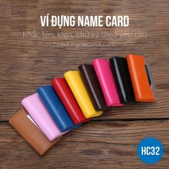 Mua vi dung name card nu cao cấp nhiều màu HC32