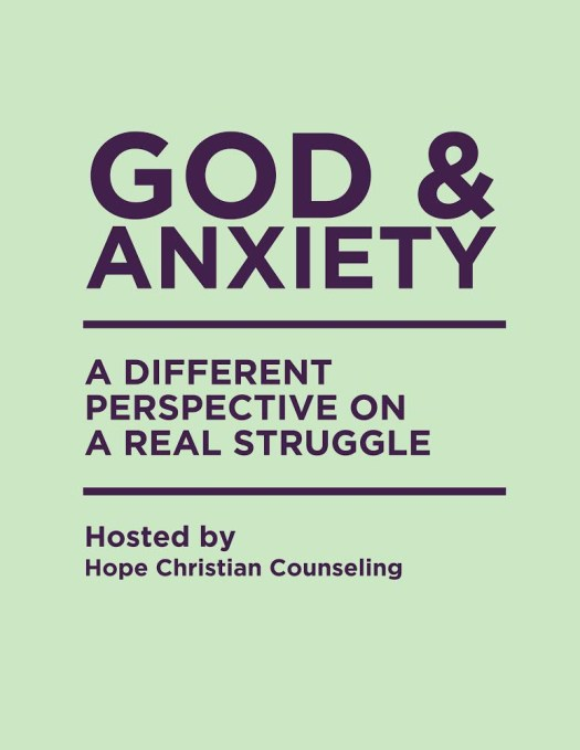 God & Anxiety Event