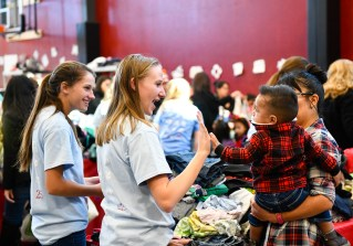 DECEMBER 1, 2018: DENVER, CO: The 25th annual Student HOPE event at Colorado Academy in Denver on Saturday, December 1, 2018. (Photo by Cyrus McCrimmon for Colorado Academy)