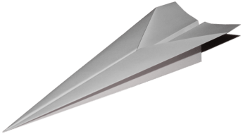 Anxiety Paper Airplane