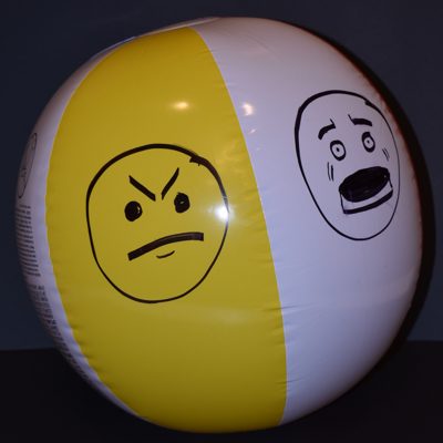 Feelings Beach Ball