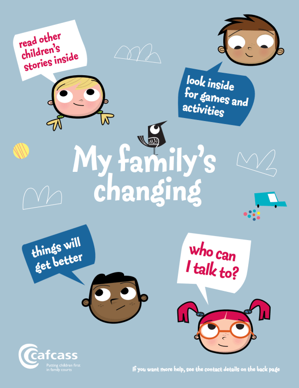 My Family's Changing Activity Book for Children