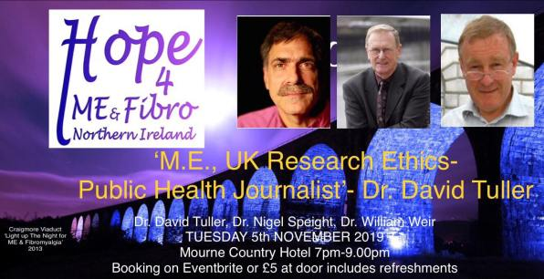 'M.E., UK Research Ethics ' by Public Health Journalist, David Tuller