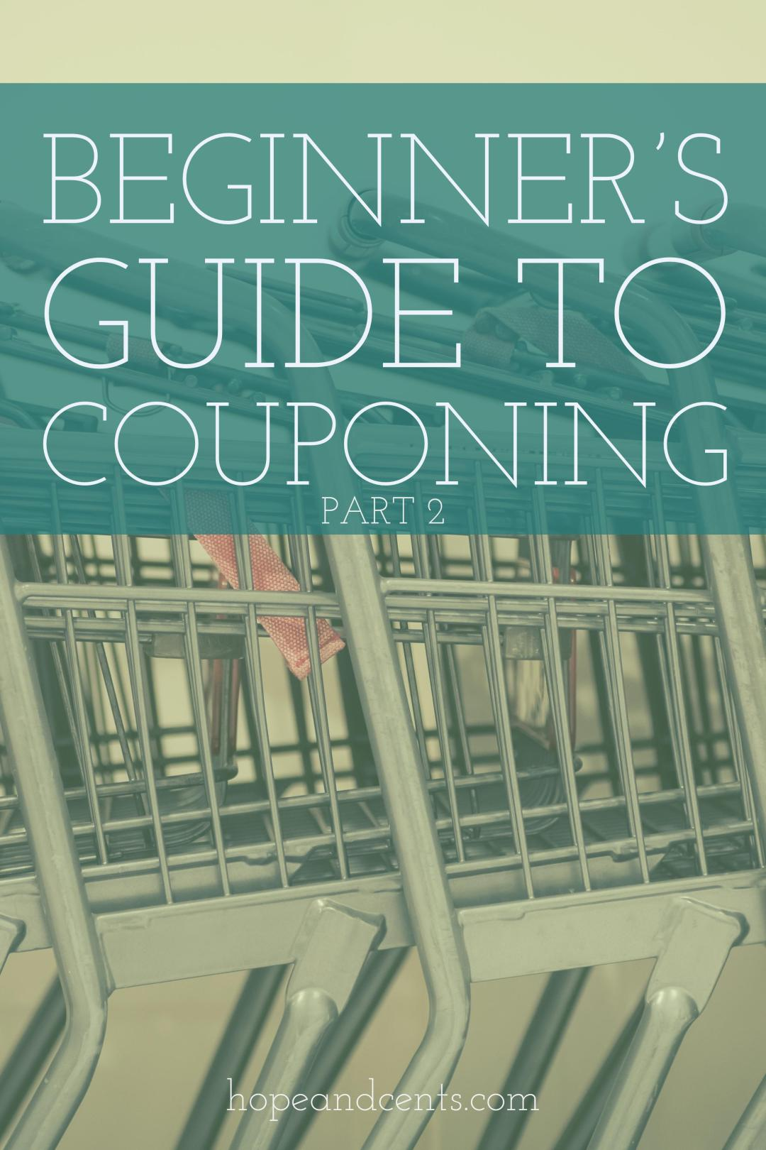 Part 2 in a three-part series. There are various kinds of coupons and sources from which to get them. Familiarize yourself with all of them, as you will use a combination each time you shop.