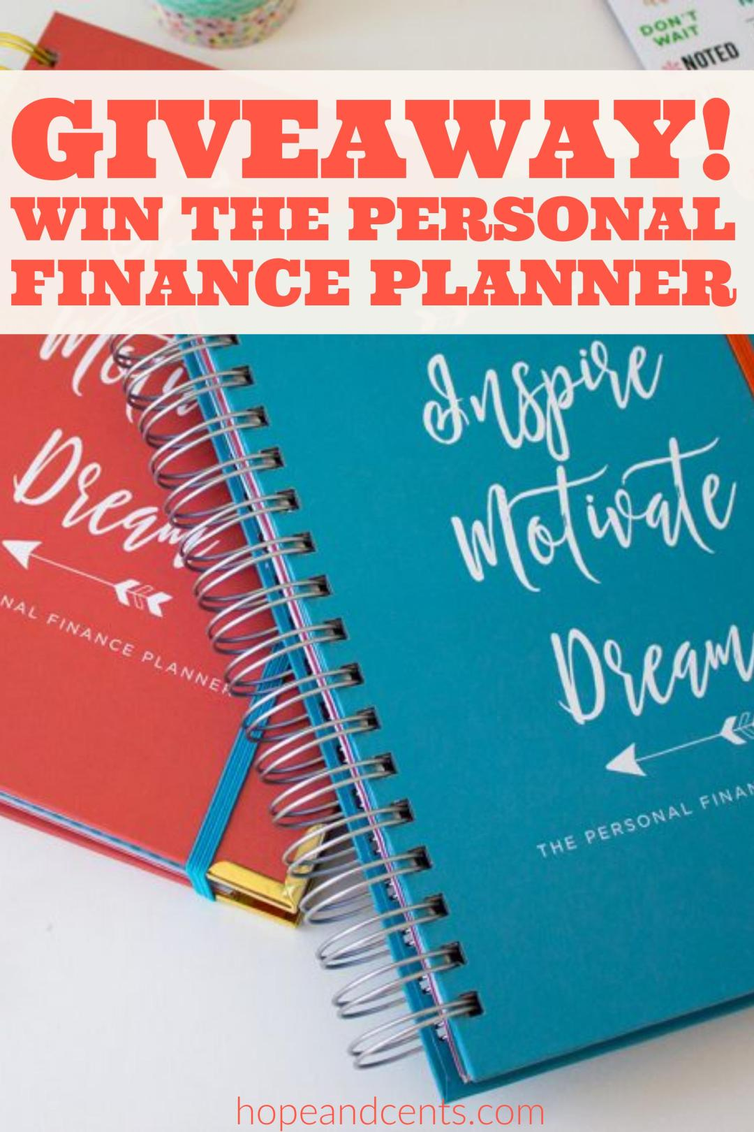 Are you looking for the perfect planner? Organize your schedule, budget, meal planning, and grocery shopping in one place. Enter to win thru 12/20/16.
