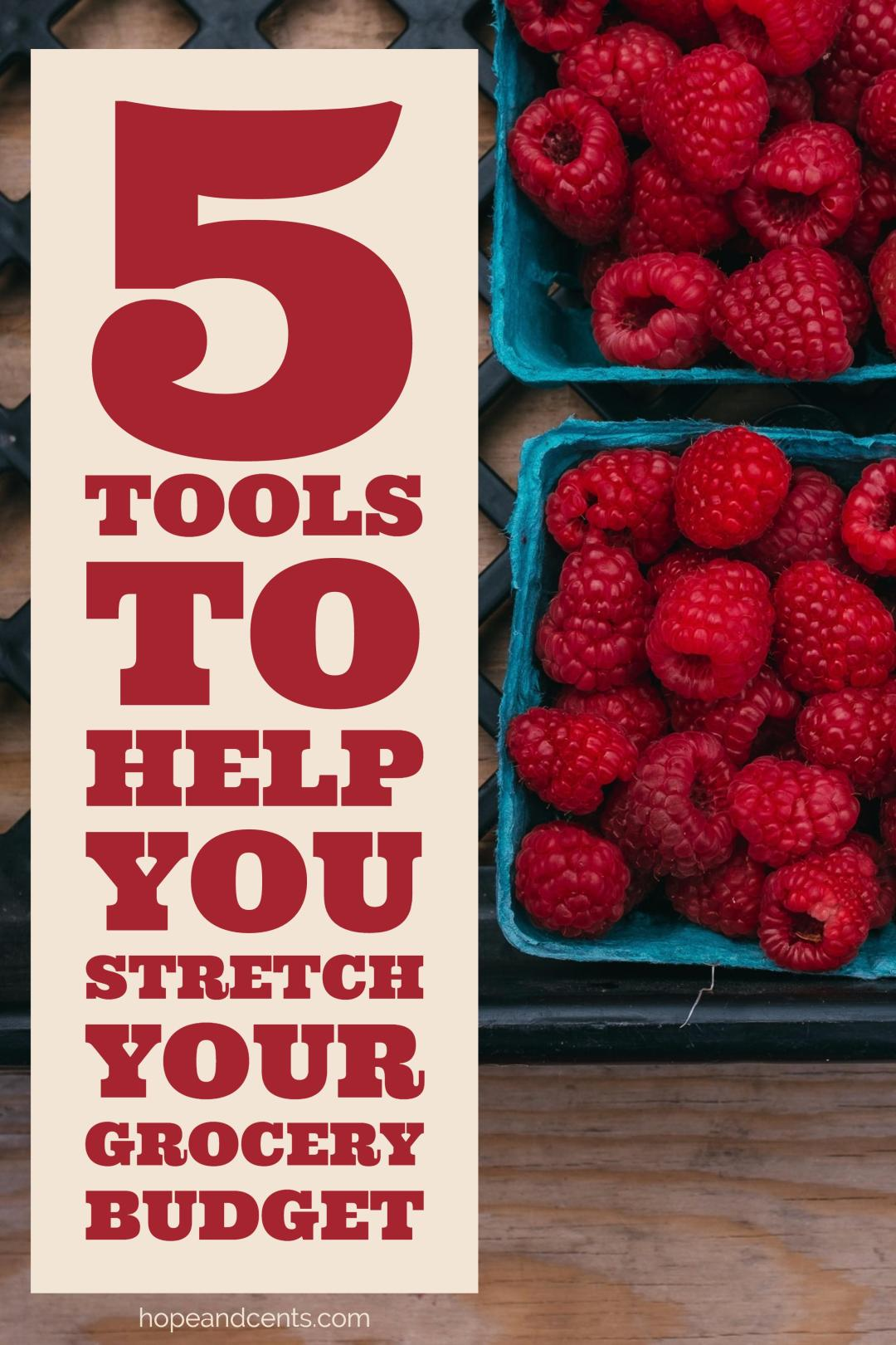 Are you always blowing your grocery budget? These tools and apps can help you become more frugal and save money on groceries & meal planning.
