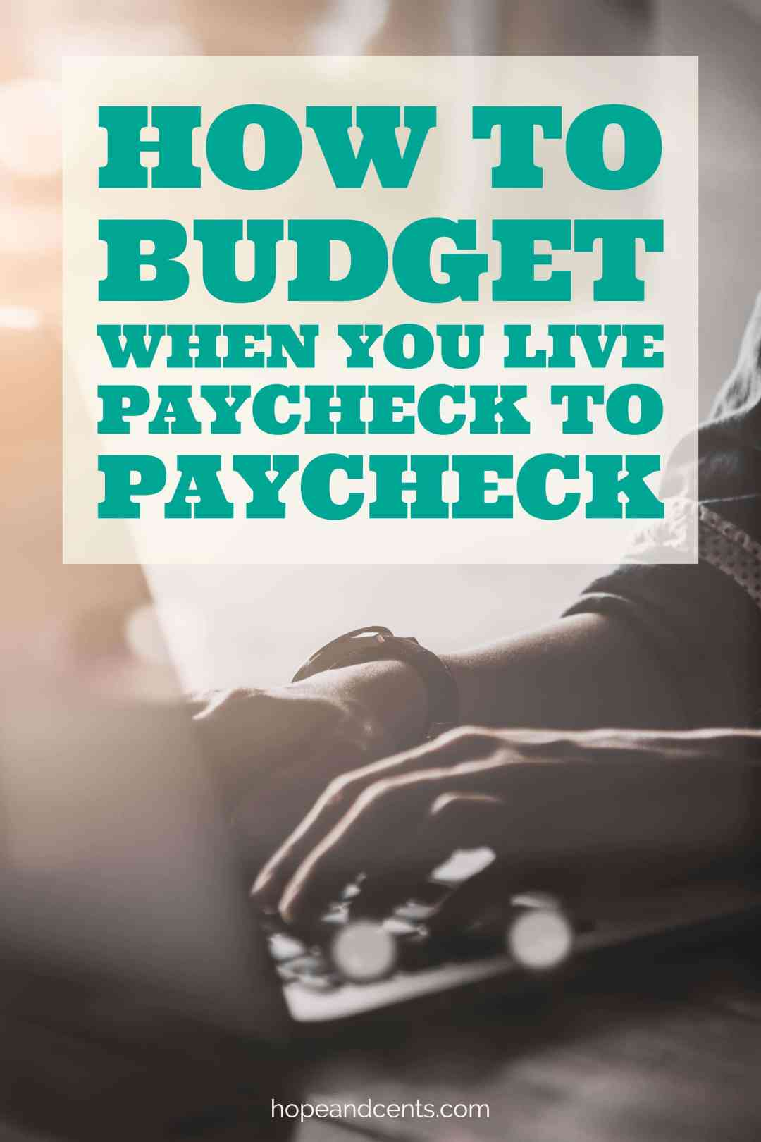 Are you having a hard time budgeting because you live paycheck to paycheck? Does the thought of getting ahead seem like a pipe dream? Love this easy to follow and easy to understand budget tutorial with printable. #budget #printable #money #debt