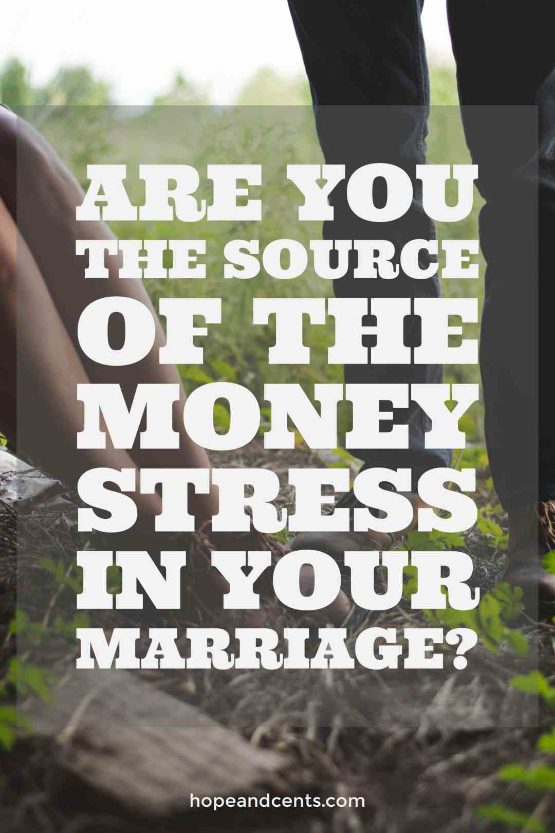 Money stress can affect or strain a marriage, but there are steps you can take to prevent the stress from completely consuming your relationship.