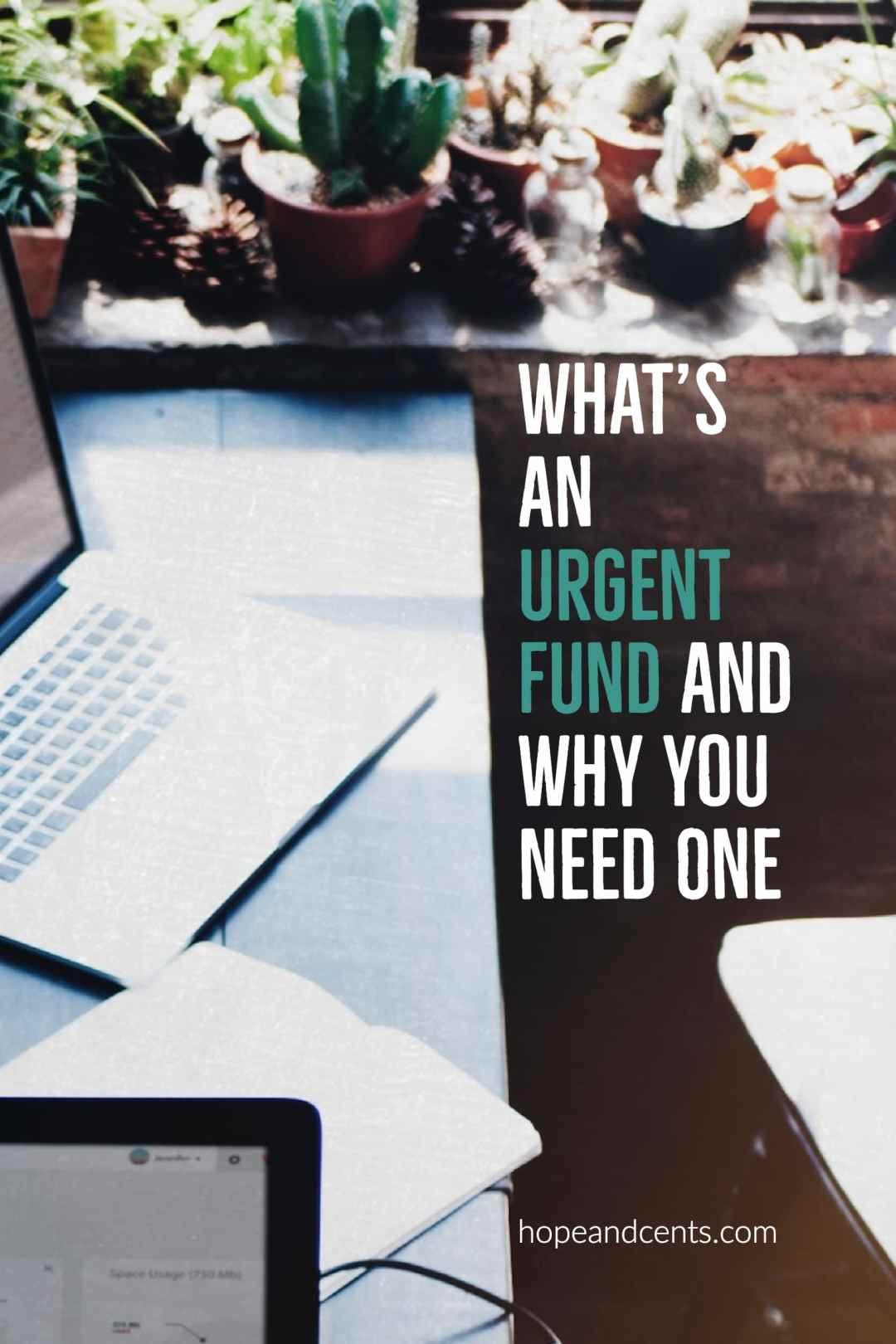 Love this idea! Even with a budget in place, unplanned expenses pop up. With an urgent fund, you won't have to dip into your emergency fund to cover expenses that aren't emergencies,